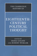 The Cambridge History Of Eighteenth Century Political Thought