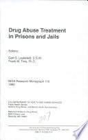 Drug Abuse Treatment in Prisons and Jails