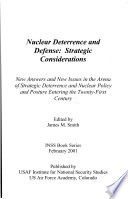 Nuclear Deterrence and Defense