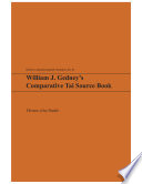 Read Online William J. Gedney's Comparative Tai Source Book For Free