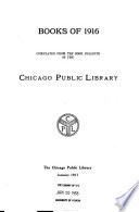 Books of 1912-