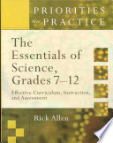 The Essentials of Science  Grades 7 12