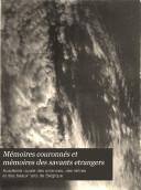 Mémoires couronnés et mémoires des savants etrangers ebook