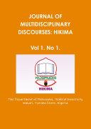 HIKIMA  Journal of multidisciplinary Discourses