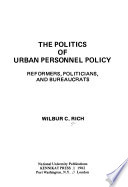The politics of urban personnel policy