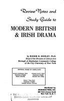 Review Notes And Study Guide To Modern British Irish Drama