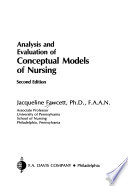 Analysis and Evaluation of Conceptual Models of Nursing