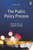 Cover of The Public Policy Process