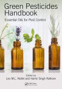 Green Pesticides Handbook