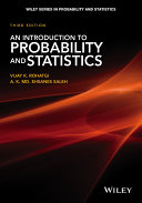 Pdf An Introduction to Probability and Statistics Telecharger