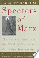 Specters of Marx Book