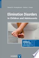 Elimination Disorders In Children And Adolescents PDF