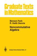 Noncommutative Algebra