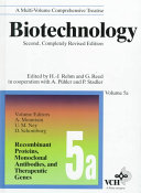 Biotechnology  Recombinant Proteins  Monoclonal Antibodies  and Therapeutic Genes