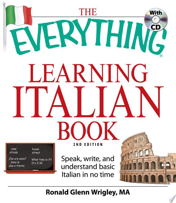 The Everything Learning Italian Boo