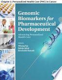 Genomic Biomarkers for Pharmaceutical Development