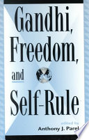 Gandhi  Freedom  and Self rule