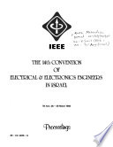 The 14th Convention of Electrical & Electronics Engineers in Israel, Tel-Aviv, 26-28 March 1985