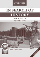Books - In Search Of History Grade 10 Teachers Guide | ISBN 9780199057801