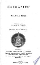 Mechanics Magazine And Journal Of Science Arts And Manufactures