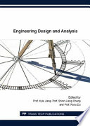 Engineering Design And Analysis Book PDF