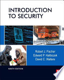 Introduction to Security Book