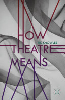 Pdf How Theatre Means Telecharger
