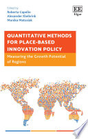 Quantitative Methods for Place Based Innovation Policy