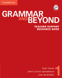 Grammar and Beyond Level 1 Teacher Support Resource Book with CD ROM