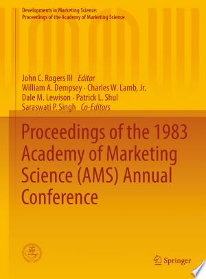Download Proceedings of the 1983 Academy of Marketing Science (AMS) Annual Conference Free Books - Dlebooks.net