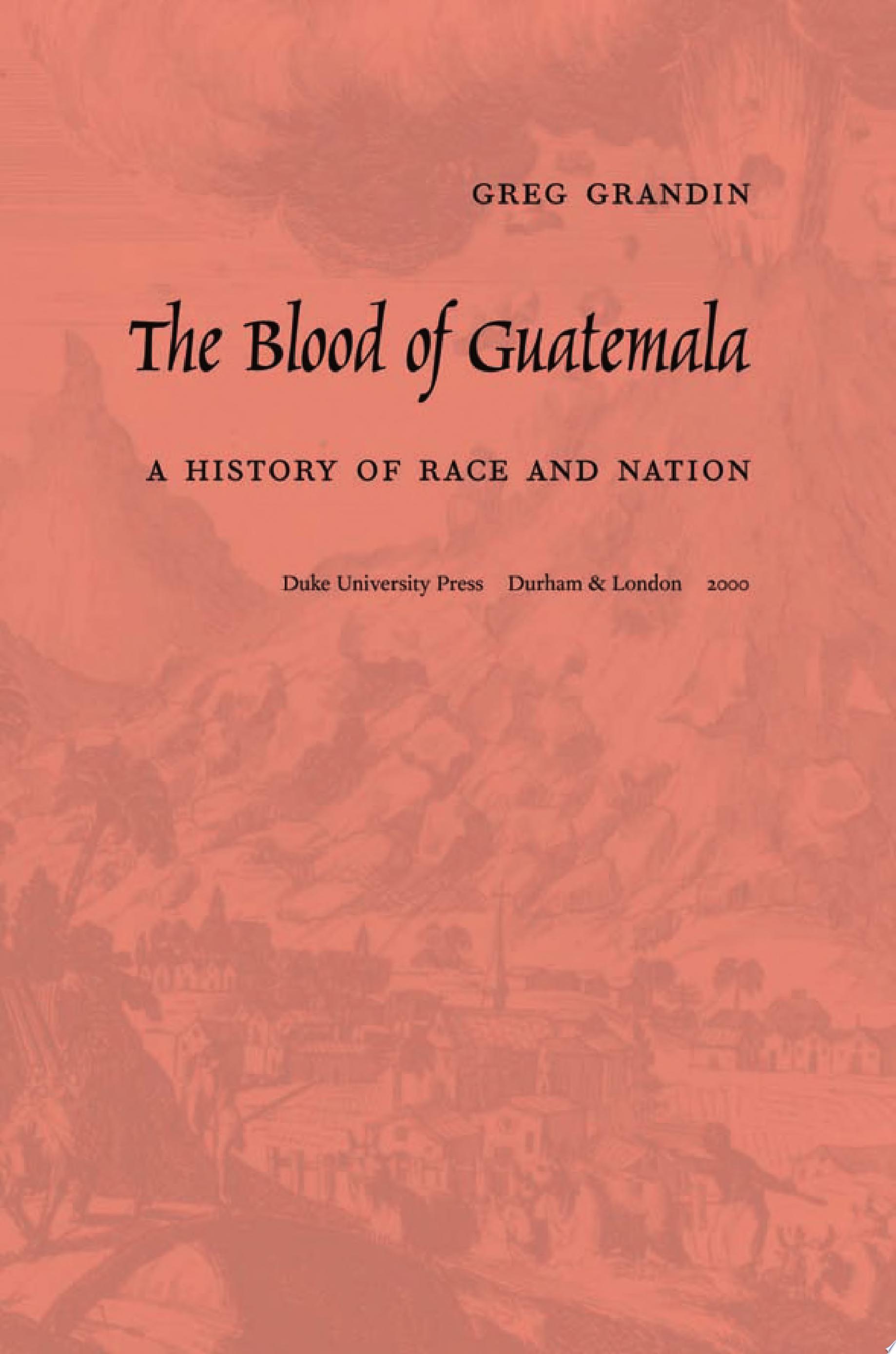 The Blood of Guatemala