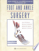 """McGlamry's Comprehensive Textbook of Foot and Ankle Surgery"" by Alan S. Banks"