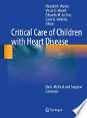 Critical Care of Children with Heart Disease Book