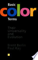 Basic Color Terms