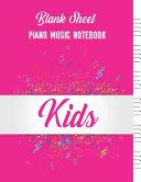 Standard Wirebound Manuscript Paper For Kids