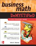 Business Math Demystified [Pdf/ePub] eBook