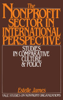 The Nonprofit Sector in International Perspective Pdf/ePub eBook