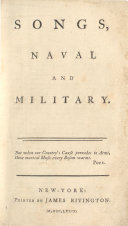Songs  Naval and Military