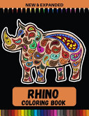 Rhino Coloring Book  New   Expanded