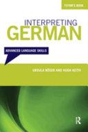 Interpreting German