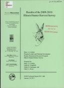 Illinois Hunter Harvest Report