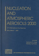 Nucleation and Atmospheric Aerosols 2000