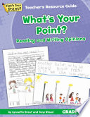 What's Your Point? Reading and Writing Opinions