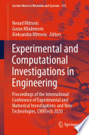 Experimental and Computational Investigations in Engineering