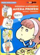 mengenal & Mewarnai Aneka Profesi (Inggris-Indonesia)
