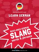 Learn German: Must-Know German Slang Words & Phrases