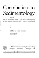 Contributions to Sedimentology