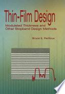 Thin film Design Book