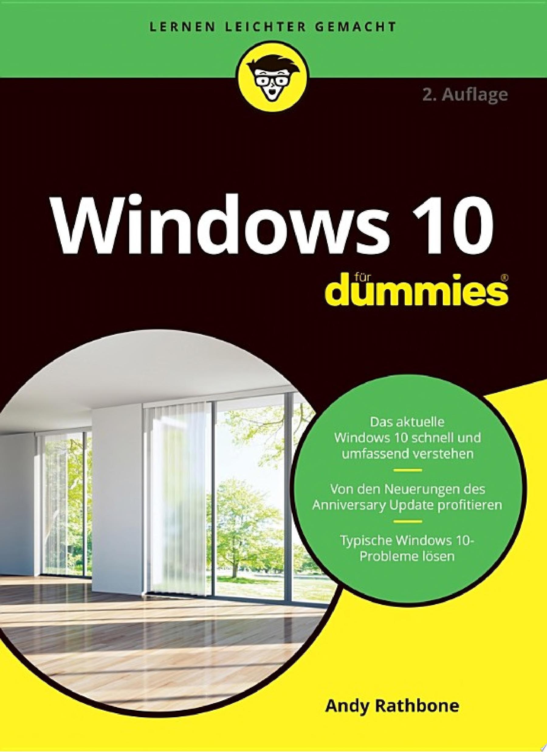 Windows 10 f  r Dummies