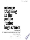 Science Teaching in the Public Junior High School